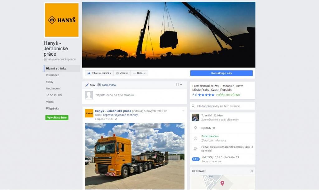 Sledujte nás také na Facebooku!