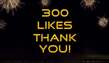 300 Likes on Facebook