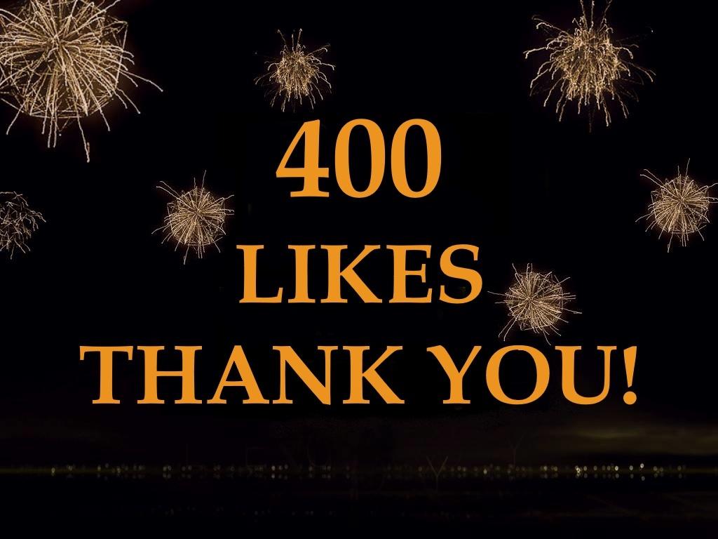 400 Likes on Facebook
