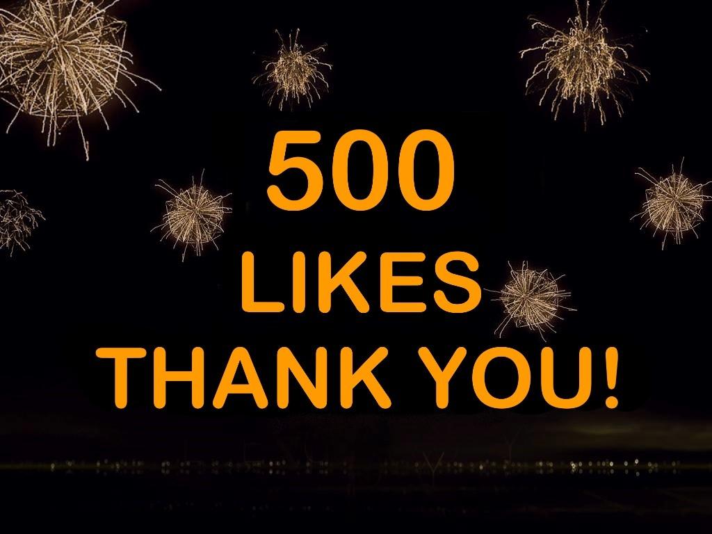 500 Likes na Facebook!