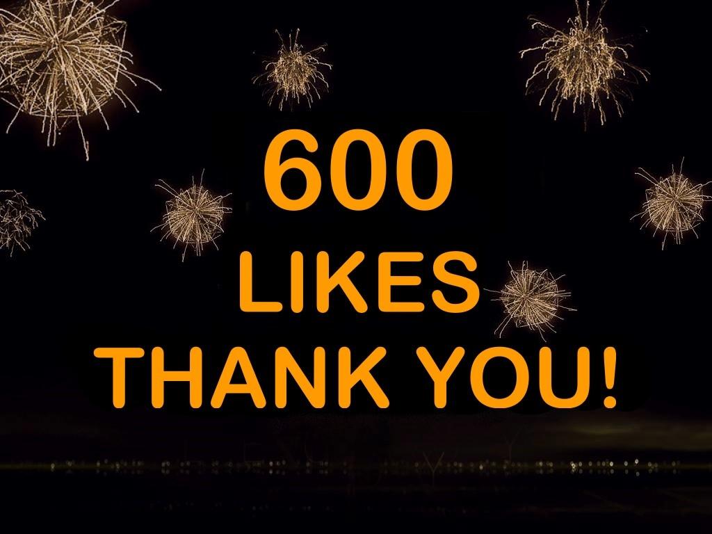 600 Likes on Facebook