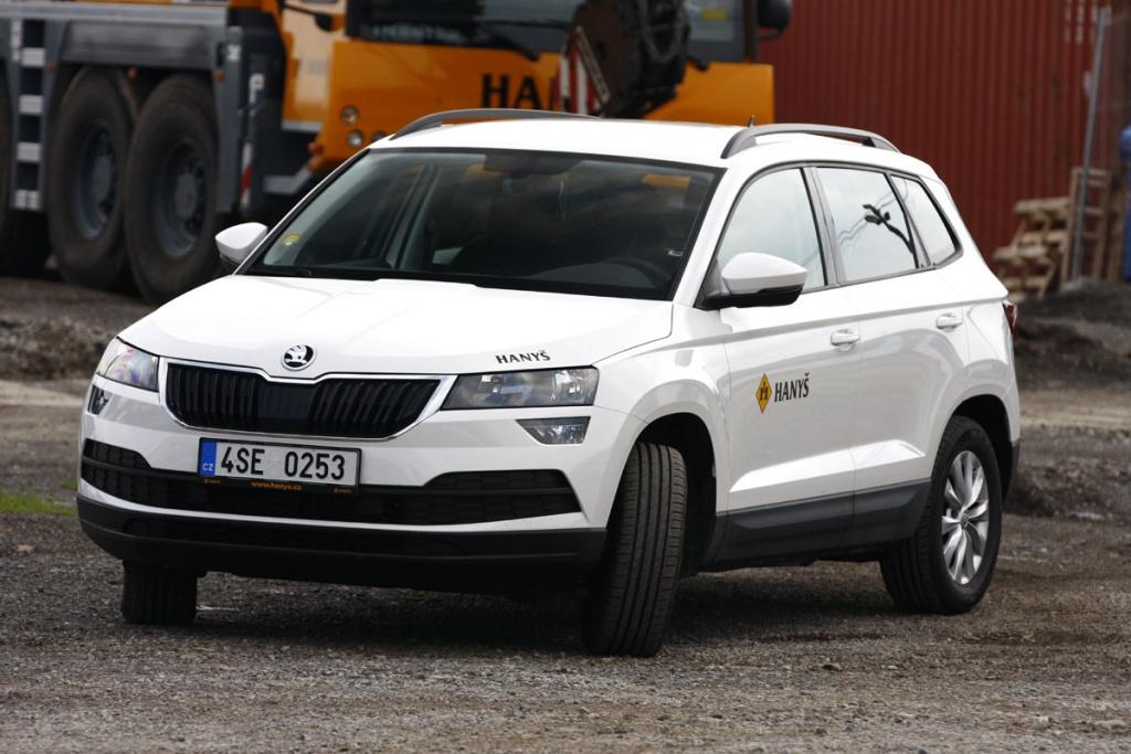 Obnova vozového parku v naší společnosti probíhá i v segmentu osobních vozů.
