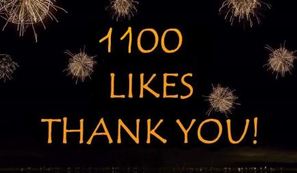 1 100 Likes on Facebook