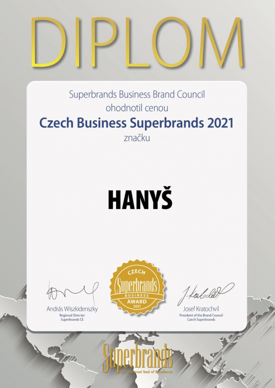 Czech Business Superbrands 2021