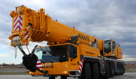 Let us introduce our new mobile crane LIEBHERR LTM 1350-6.1.