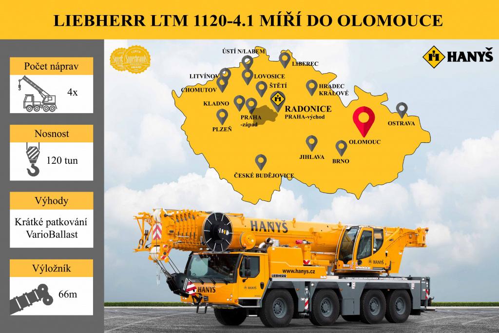 A new crane in Olomouc!