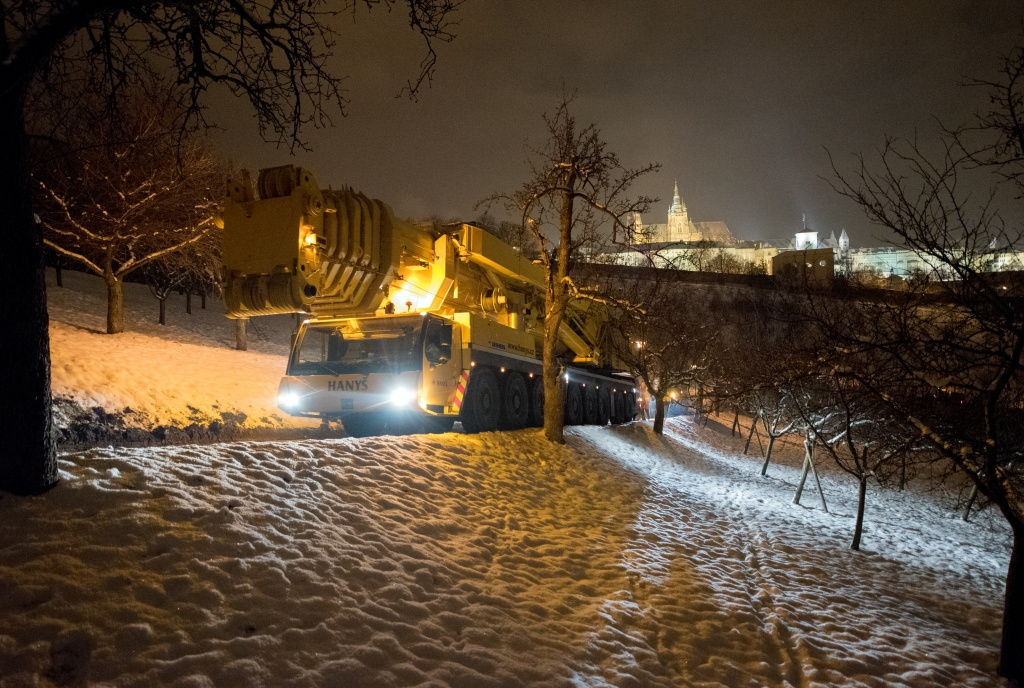 Rekonstrukce lanové dráhy na pražský Petřín